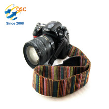 Factory Direct Sale Black Blue Red Multi Color Cotton Fabric Camera Hand Strap