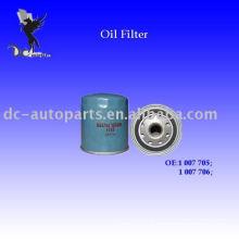 Auto Oil Filter 1 007 705 Para Ford, Chrysler, Evasiva, Jipe, GM, Saturno, Lexus, Saab, Suzuki