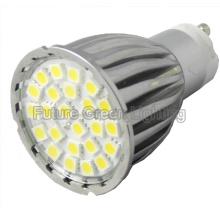 GU10 24 lámpara del PCS 5050 SMD LED (Shell de aluminio) (GU10AA2-S24)