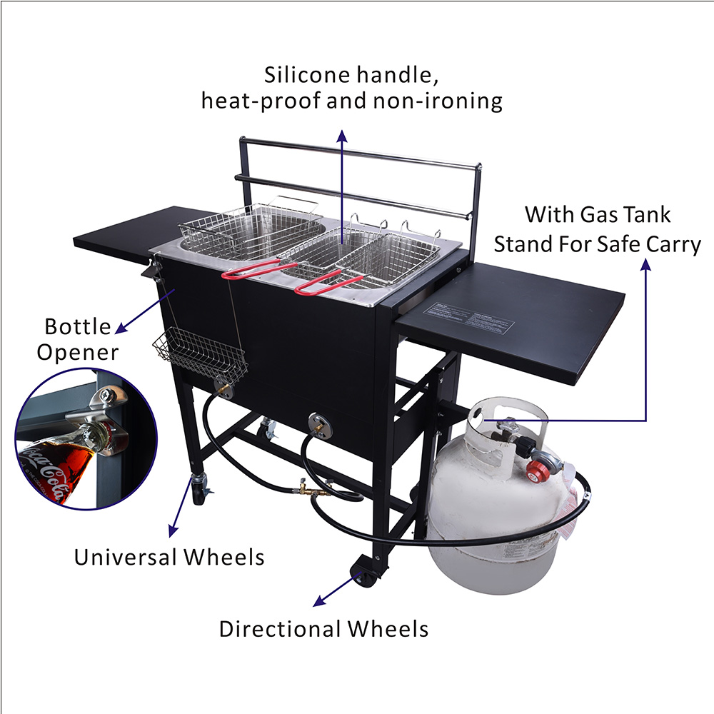 Outdoor Gas Deep Fryer