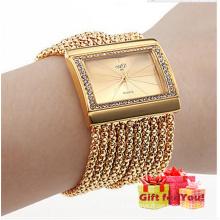New Luxury Square Tassel Belt Elegance Watch Quartz Watch Cestbella Special Gifts Watch