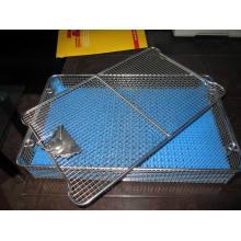 Chirurgischer Sterilisations-Korb mit Silikon-Behälter-Matte