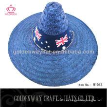 Sombrero de paja mexicano