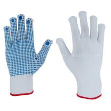 En nylon Machine tricoter des gants avec paume de points de PVC (S5103)