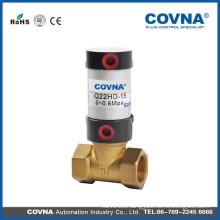 pneumatic air control valve with brass valve body