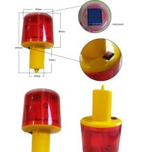 LED de advertencia de tráfico solar semáforo