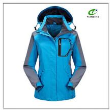 Basic cheap unisex plain outdoor jacket for adult