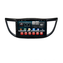 Kaier fábrica, quad core. Full touch android 4.4 dvd do carro para Honda 2013 CRV + OEM + 1024 * 600 + link mirrior + TPMS