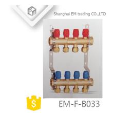 Collecteur en laiton EM-F-B033 pour jauge de débit