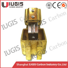 Copper Carbon Brush Holder for Fixed Carbon Brush Use in Motor