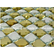 Glass Tile Diamond Mosaic (HD038)
