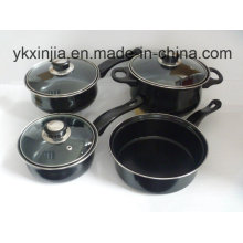 Kitchenware Carbon Steel Cookware Set for Wal-Mart