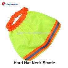 La sécurité à haute visibilité d'ombre de cou fonctionne la construction dure de casque de casque de Sun Shield
