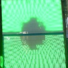 Luz de panel LED de color digital regulable de varios colores