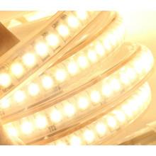 La nouvelle technologie 220V superbe lumière blanche / chaude blanche 3038 a mené la lumière extérieure Ip65 de bande imperméable