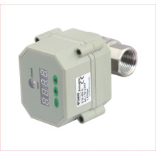 """1/2"""", 3/4"""", 1"""" Inch Electric Motorized Stainless Steel Control Water Valve with Timer"""