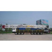 XJ180 type oil workover rig equipment