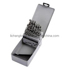 25PCS HSS Twist Drill Set with Aluminum Box