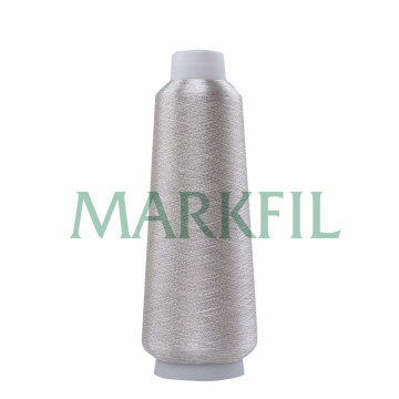 150D Viskose Pure Silver Thread Metallic-Garn