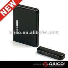 ORICO 2519US3 externer 3,5 '' Kunststoff HDD Caddy, USB3.0 Schnittstelle HDD Gehäuse