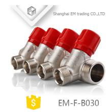 EM-F-B030 Manifold de aquecimento radiante 4 vias