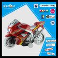 Rueda transparente del juguete eléctrico barato con la mini motocicleta cruzada ligera
