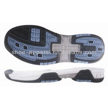 2014 shoe sole manufacturers tennis shoe sole for sale