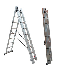 Household retractable attic stairs