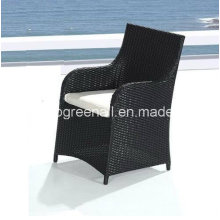 PE Rattan moderna al aire libre de ocio patio jardín silla de restaurante