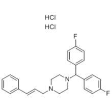 Dicloridrato de Flunarizine CAS 30484-77-6