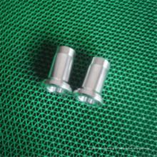 Soem-Aluminiumpräzisions-CNC-Drehbank-Bearbeitungsteil