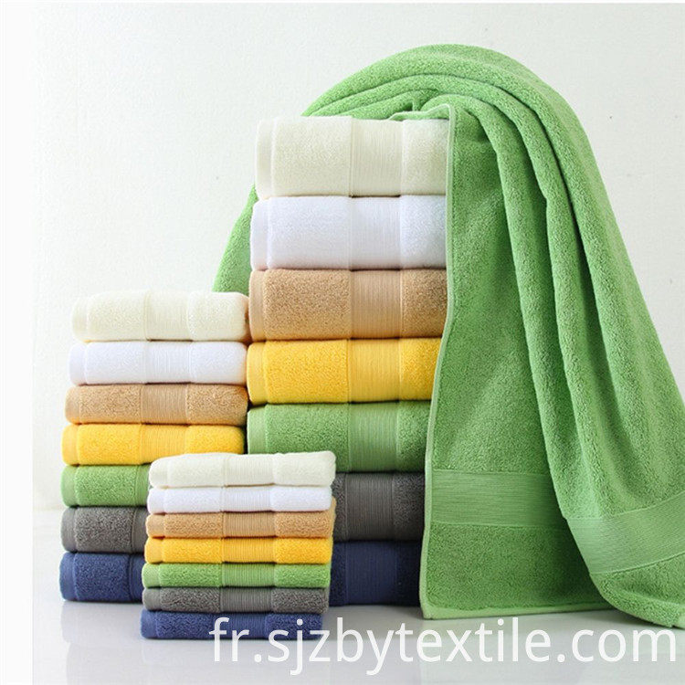 100% Cotton White Towels