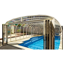 6 Leaf Electric Indoor Swimming Pool Cover Vancouver