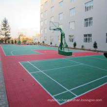 Interlock Sports Floor, PP Interlocking Floor Skating Floor Futsal Floor