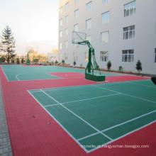 Intertravar o assoalho dos esportes, assoalho de bloqueio de Futsal do assoalho da patinagem dos PP