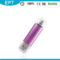 Barato lápiz labial de plástico colorido en forma de memoria USB Flash Drive (TJ004)