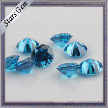 Star Twinkling Swiss Blue Brilliant Cut Precio favorable CZ