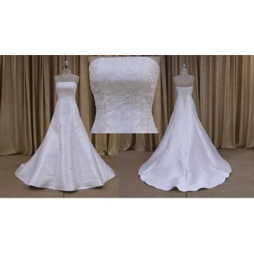 Оптовик Талии Без Бретелек Короткие Цветочные Свадебные Платья