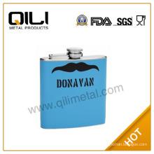 18/8 304 FDA and LFGB 6oz high quality hip flask new gift items
