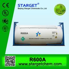 ISO TANK gás refrigerante R600A