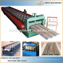 Construcción de Metal Deck Roll formando la máquina