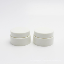 New design natural 15g wheat straw biodegradable pla cosmetic lip balm jar with lid PLA-148AN