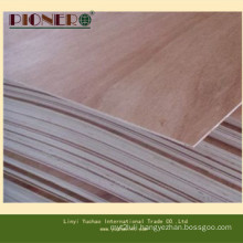 BB/CC Grade 1220*2440mm 18mm Commercial Plywood