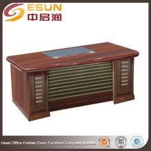 Fábrica de fornecimento direto mesa de escritório executivo de madeira