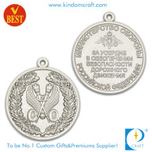China Billiger kundengebundener Fabrik-Preis 3D beide Seitenandenken-Medaille in der Zink-Legierung