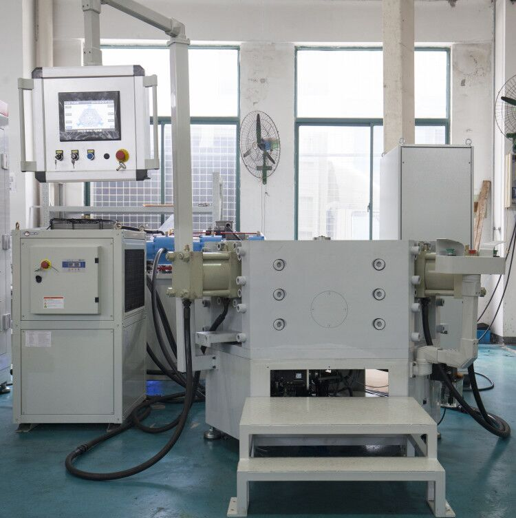 Washing machine embossing machine
