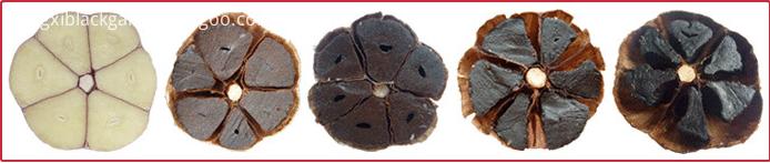 the process of black garlic