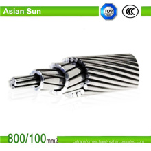 Overhead Bare Aluminium ACSR Cable Wire for ASTM BS Standards