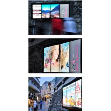 Mur visuel d'affichage à cristaux liquides de paysage de 4X46inch