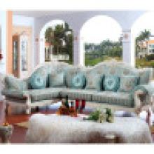 Sofa da tela ajustada / sofá da sala de visitas / sofá de madeira (YF-D801)
